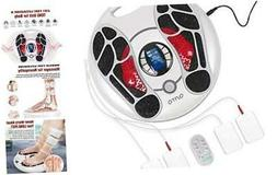 Foot Circulation Stimulator  EMS Foot Massager with 4 Elect