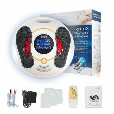 Electric Foot Massager Therapy Machine EMS & TENS tech Syste