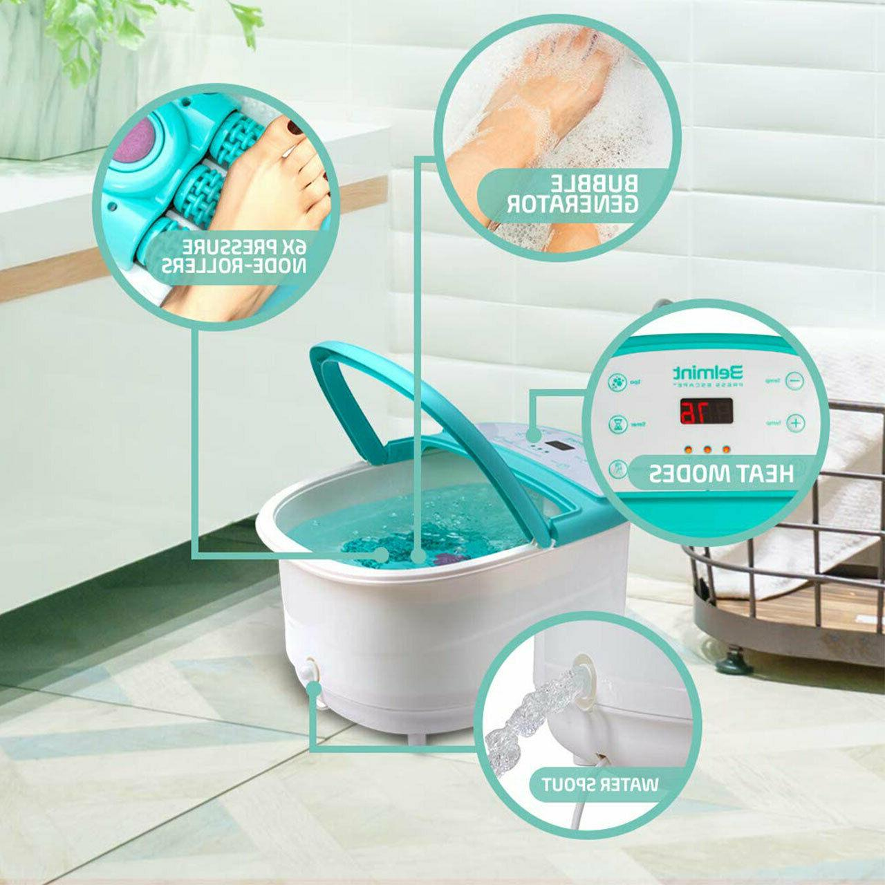 Foot Spa with Soaking Tub Pressure