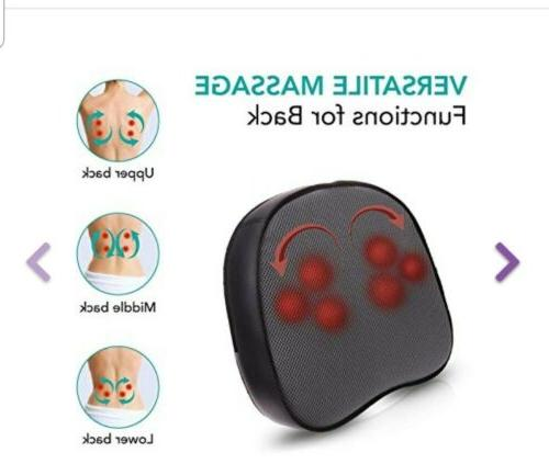 Naipo Massager Electric Back Heat Vibration