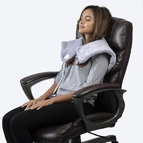 Neck Pad Heat for Pure Relieving with Fast-Heating Technology and Auto Function