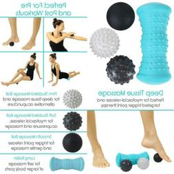 Vive Massage Ball Set  - Foot Pain Hot Cold Therapy Kit - Pl