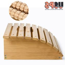 Natural Bamboo Foot Rest Massager Foot Stool with Relax Reli