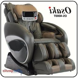 Osaki OS-4000 Delux Massage Chair - Charcoal