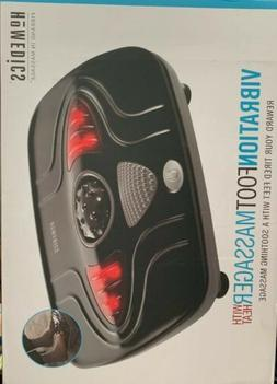 HoMedics Vibrate with Heat, Foot Massage With Heat and Vibra